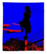 Sky Dancer Fleece Blanket