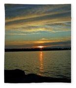 Sky Waves Fleece Blanket