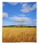 Slieveardagh Hills, Co Kilkenny Fleece Blanket
