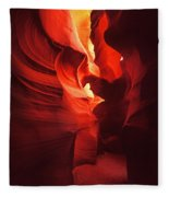 Slots On Fire Fleece Blanket