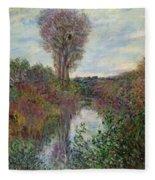 Small Branch Of The Seine Fleece Blanket