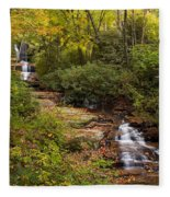 Small Stream Fleece Blanket