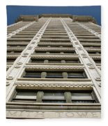 Smith Tower Fleece Blanket