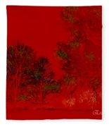 Smokey Woods Fleece Blanket