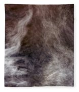 Smoking Water Fleece Blanket