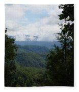 Smoky Mountain View Fleece Blanket