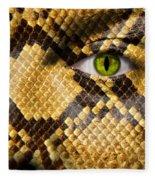 Snake Eye Fleece Blanket