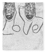 Sneaker Love 2 Fleece Blanket