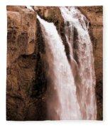 Snoqualmie Falls Fleece Blanket