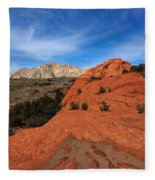 Snow Canyon 1 Fleece Blanket