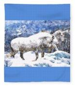 Snow Play Fleece Blanket