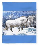 Snow Play Fleece Blanket