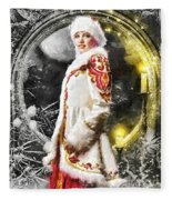 Snow Queen Fleece Blanket