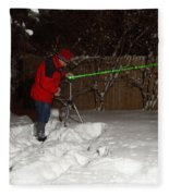 Snow Researcher Fleece Blanket