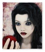 Snow White Fleece Blanket