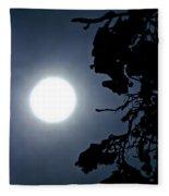 Solar Abstract Fleece Blanket
