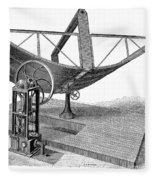 Solar Engine, 1884 Fleece Blanket