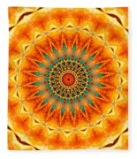 Solar Wind Fleece Blanket