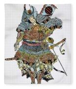 Soldier: Samurai Fleece Blanket