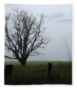 Solitude In Queensland Fleece Blanket