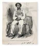 Solomon Northup (1808-?) Fleece Blanket