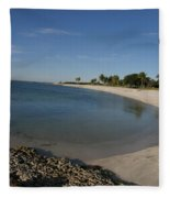 Sombrero Beach Fleece Blanket
