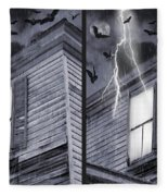 Something Wicked - Cross Your Eyes And Focus On The Middle Image Fleece Blanket