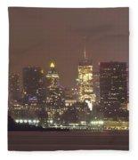 Song Of Liberty Fleece Blanket