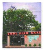 Soul Fish Fleece Blanket