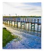 Soundside Park Surf City Fleece Blanket