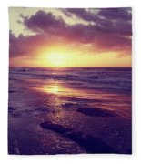 South Carolina Sunrise Fleece Blanket