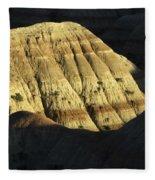 South Dakota Badlands Fleece Blanket
