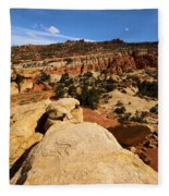 South Fruita Overlook Fleece Blanket