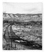 South Platte Park II Fleece Blanket