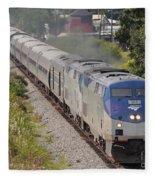 Southbound Amtrak Silver Star Fleece Blanket