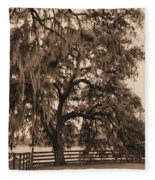 Southern Charm Fleece Blanket
