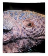 Southern Naked-tail Armadillo Fleece Blanket