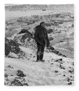 Southpole-antarctica-photos-4 Fleece Blanket