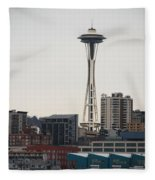 Space Needle Fleece Blanket