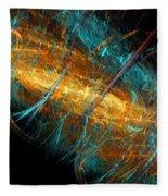 Space Storm Fleece Blanket