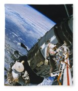 Spacewalk Fleece Blanket