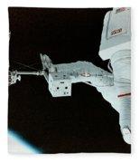 Spacewalk Fleece Blanket