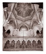 Spain Cathedral 1 Fleece Blanket