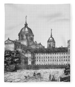 Spain: El Escorial, C1860 Fleece Blanket