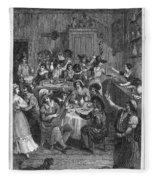 Spain: Inn, 1810 Fleece Blanket