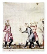 Spain: Medieval Ballgame Fleece Blanket