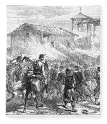 Spain: Second Carlist War Fleece Blanket