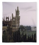 Spanish Castle Fleece Blanket
