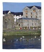 Spanish Arch, Galway City, Ireland Fleece Blanket