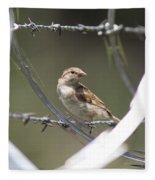 Sparrow - Protected By Razor Wire Fleece Blanket